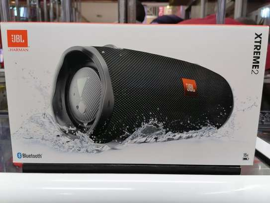 JBL Xtreme 2 - Waterproof Portable Bluetooth Speaker - Black image 1