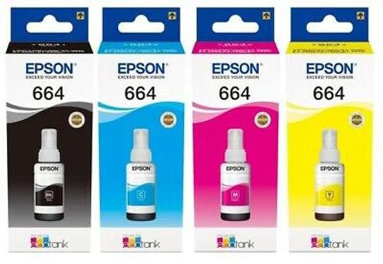 Original Epson 664 Ecotank Ink Bottles Multipack image 1
