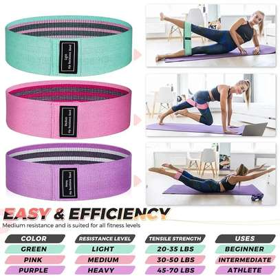 *Booty Bands /Fabric Resistance Glute Bands image 2