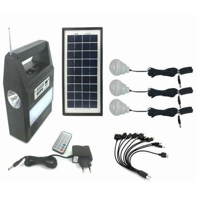 Solar Kit with LED Lights and Phone Multi Charger
