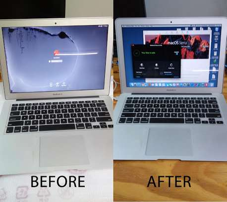 """Broken LCD Screen Replacement for Macbook Air 13"""" A1466 2013 2014 2015 image 1"""