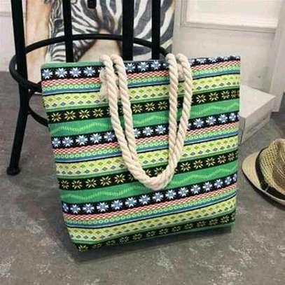 Ladies multicolered handbag image 1