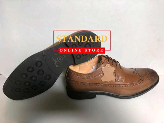 Men's Official Italian Leather Shoes with rubber sole image 26
