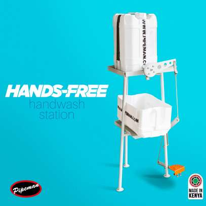 Pipeman, Hands-Free Hand Wash Station