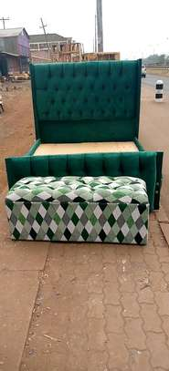 A green Chesterfield image 1