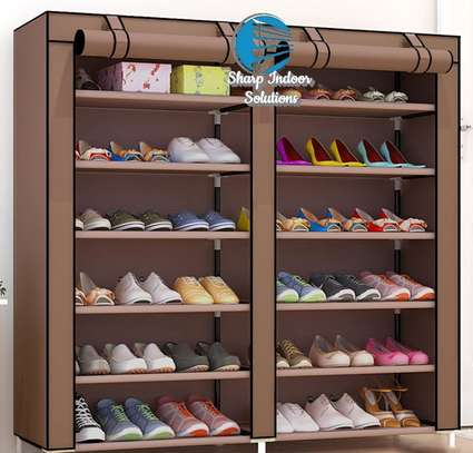 2 Column Portable Shoe Rack- Best Quuality image 4