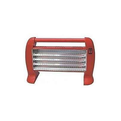 Ketao 1200W Elegant Halogen Room Heater - Red image 2