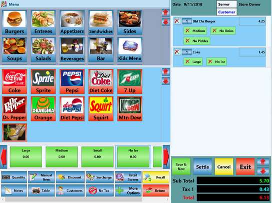 Super Markets,Retail Shops And Stores,Wine & Spirit,Bakery,Coffee Shop Retail Point Of Sale POS Software