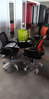 Several colors swivel mesh office chair image 1