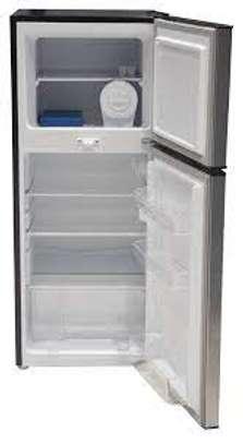 Mika MRDCD75LSD Double Door Refrigerator- 138L image 1