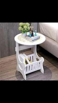 White decorative table image 1