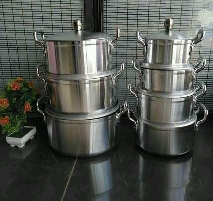 *14pcs tornado Aluminium Cookware set* image 2
