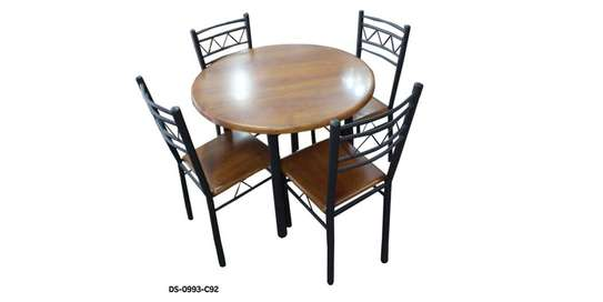 4 Seater Wooden Dining image 1