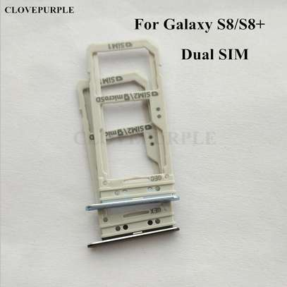 Replacement Dual/Single SIM Tray SD Card Reader for Samsung Galaxy S8 S8 Plus image 4