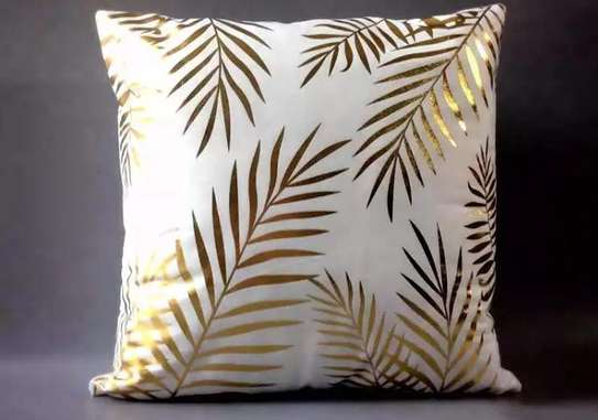 Gold Pillow Covers image 2