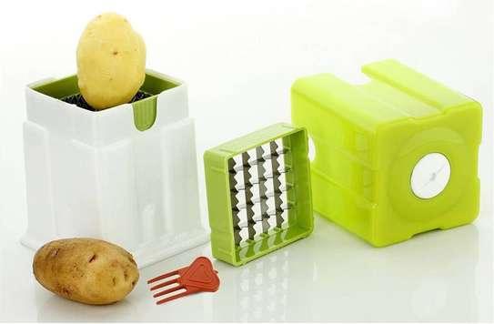 Vegetable Potato Finger Chips Cutter Chipser image 3