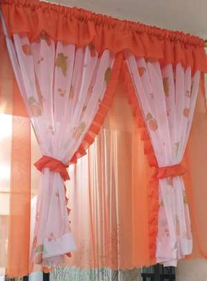 Designed kitchen curtains image 11