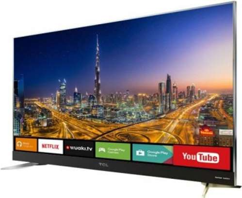 75 inch TCL Smart Ultra HD 4K Android LED TV -- 75P8M