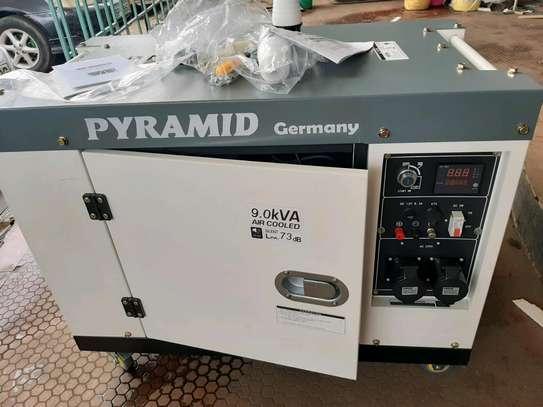 9kva pyramid Germany generator