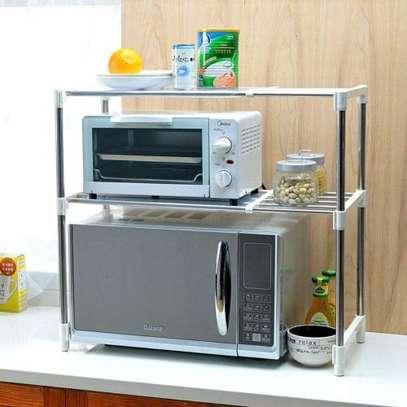 Adjustable microwave stand image 1