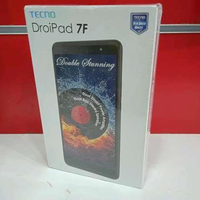 Tecno Tablet 16gb 1gb ram, Tecno Droipad 7F Model with delivery image 1