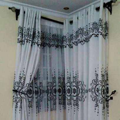 Black and White Curtains and Sheers