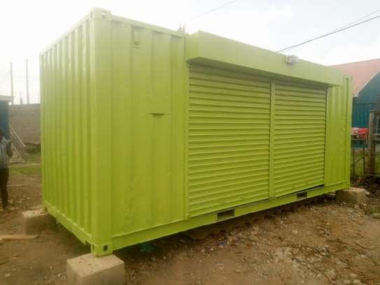 20ft shipping container wholesale shop image 1