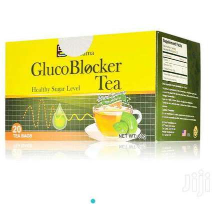 Glucoblocker Tea; 20 tea bag blood sugar product BFsuma image 1