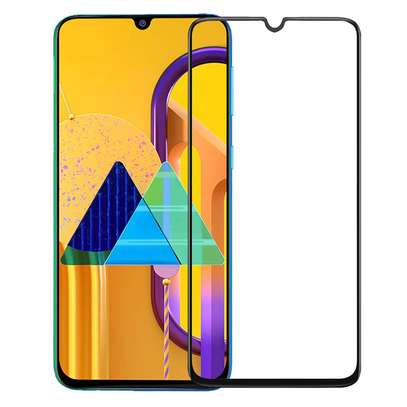 5D Full Glue Protective Tempered Glass Protector For Samsung M31 M21 A31 A21 image 1