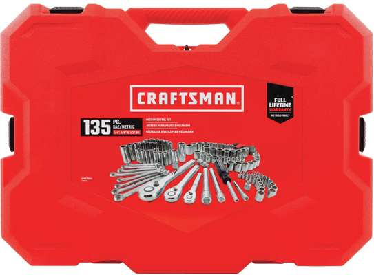 CRAFTSMAN Mechanics Tool Set, SAE / Metric, 135-Piece image 2