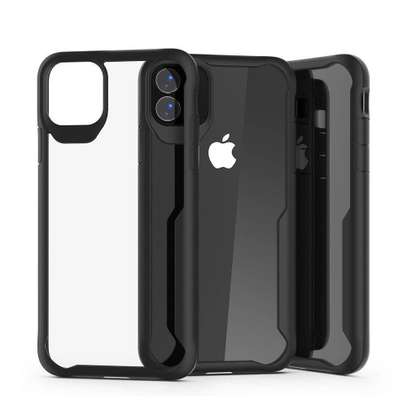 IPAKY Hybrid Shockproof Transparent Case for Samsung A71 A51 A31 image 6