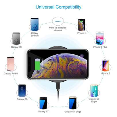 7.5W Wireless Fast Charging Pad image 3