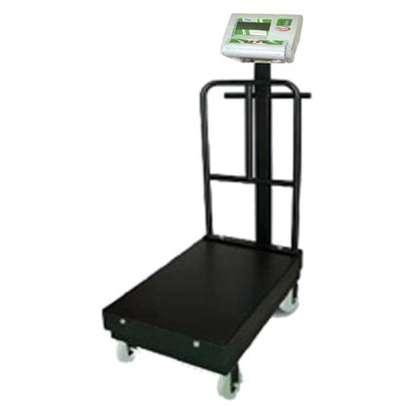 500kg/100g Postal Scale Floor Iron Sheet Platform Weight. image 1