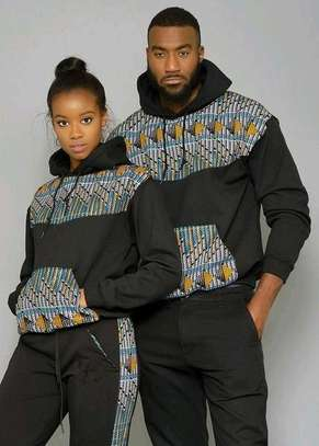 Ankara African Couple Outfit image 6