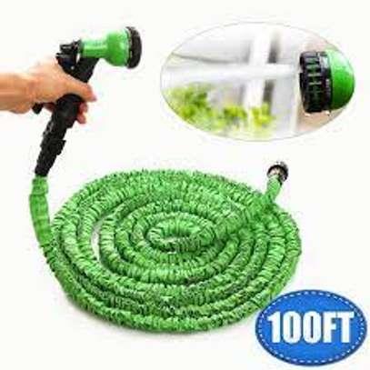 Magic Hose Pipe 30m/100ft Garden Water Green image 1