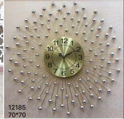 peacock Wall clock image 3