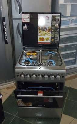 Mika 60*60cm, 3 Gas + 1 Electric Cooker image 1