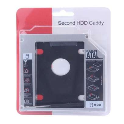 """SATA Notebook Hard Drive Bay HDD SSD Caddy Converter Adapter For MacBook Pro 13"""" 15"""" 17"""" image 4"""