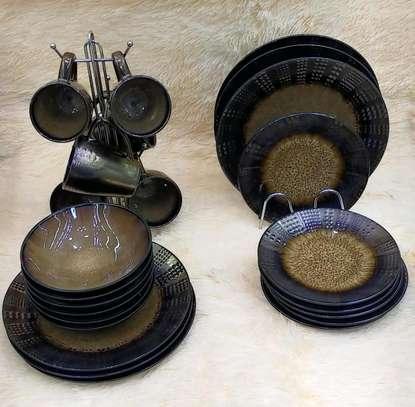 Dinner set/24pcs ceramic dinner set. image 1