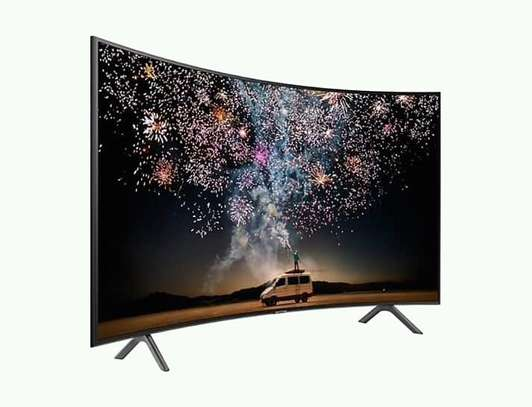 49 inch Samsung smart curved tv image 1