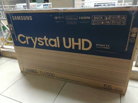 Brand new Samsung 55 inch smart uhd 4k Tu7000 tv image 2