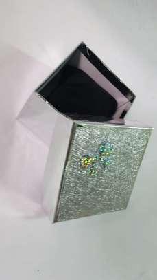 White Silver Gift Box image 1