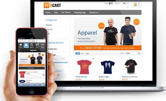 Ecommerce website for your online shop image 1