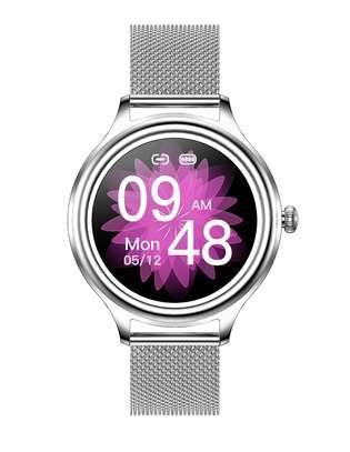 KMO5 Trendy Smart Watch for Women (Silver) image 2