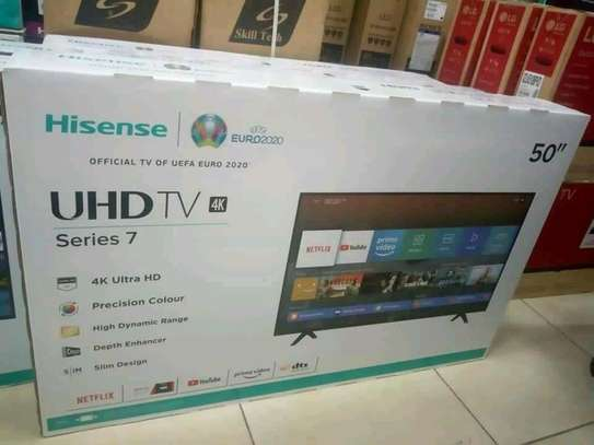 50 inch Hisense Smart UHD 4K Televisions image 1