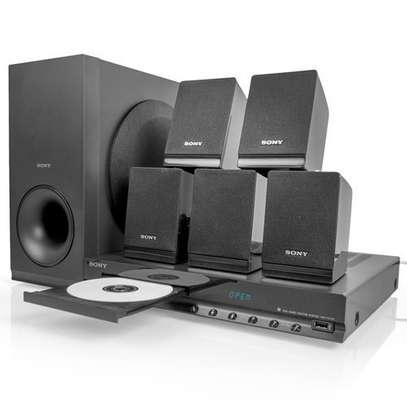 Sony TZ140 - 300W - 5.1Ch DVD Home Theater - Black