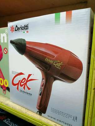 zeriotti hair dryer red image 1