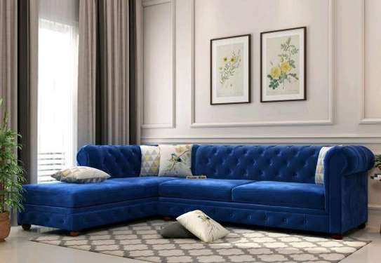 Five seater L shaped sofas for sale in Nairobi Kenya/Latest L shaped sofa set designs for sale in Nairobi Kenya image 1
