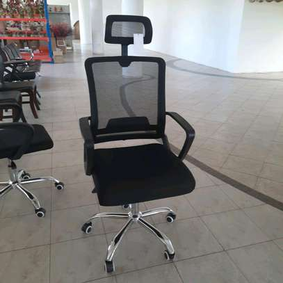 Mesh  Back Office Chair With Head Rest image 1