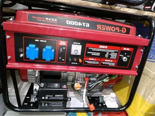 G POWER 4KVA GENERATOR KEYSTART image 2
